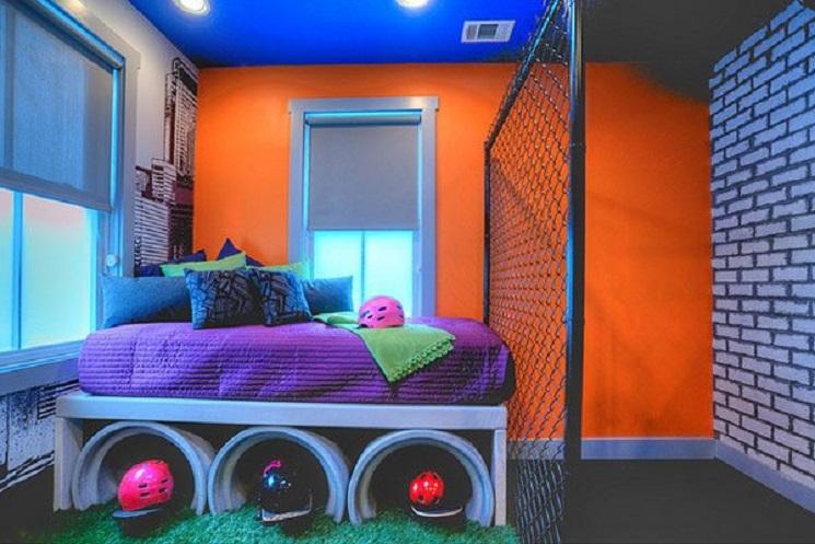 12-themed bedroom