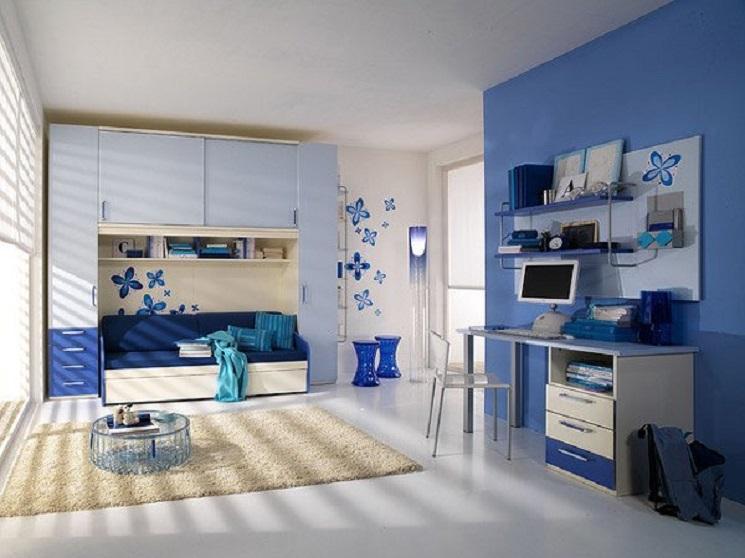 16-blue floral