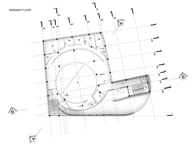 مسجدامیرالمومنین طراحی پلان توسط استودیوی CAAT