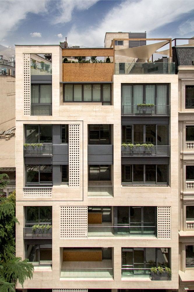 ساختمان مسکونی خزرطراحی توسط استودیو( S-A-L)