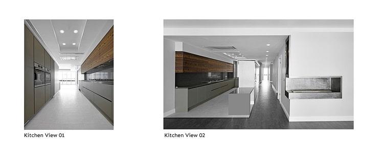 آپارتمان شماره.135 طراحی توسط BNS استودیو6
