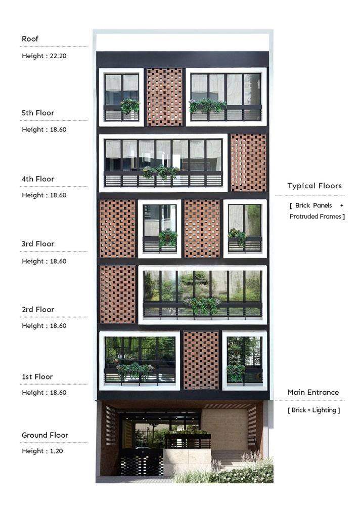 آپارتمان شماره.135 طراحی پلان توسط BNS استودیو1