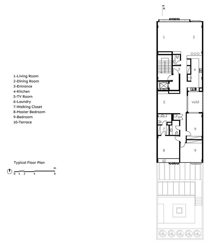 آپارتمان شماره.135 طراحی پلان توسط BNS استودیو2