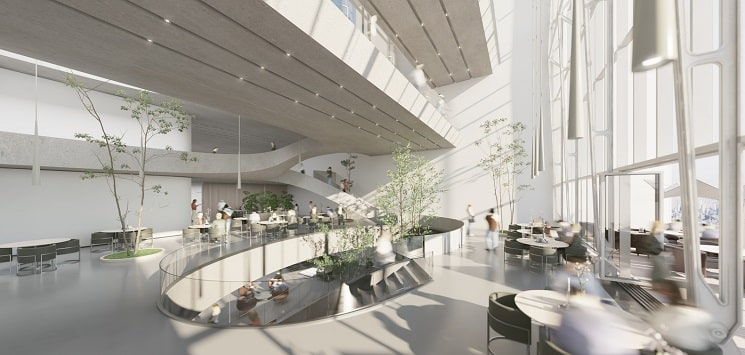 Nextoffice طراحی برج ترکیبی حجمی و مخلوط در ایران1