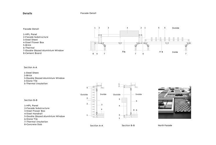 آپارتمان شماره.135 طراحی پلان توسط BNS استودیو4