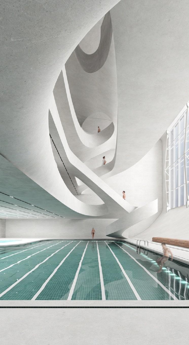 Nextoffice طراحی برج ترکیبی حجمی و مخلوط در ایران2