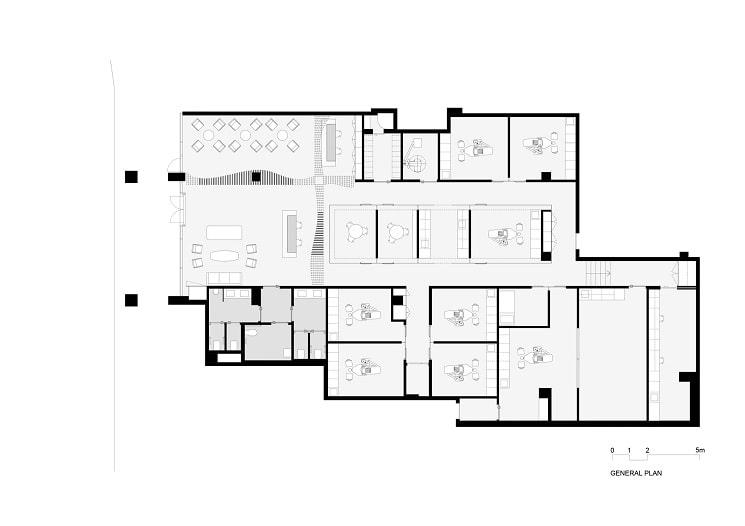 طراحی پلان کلینیک دندانپزشکی هنری