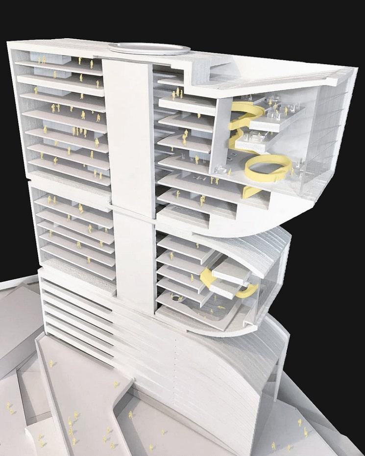 Nextoffice طراحی برج ترکیبی حجمی و مخلوط در ایران3