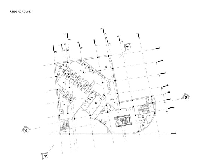 مسجدامیرالمومنین طراحی پلان توسط استودیوی CAAT1