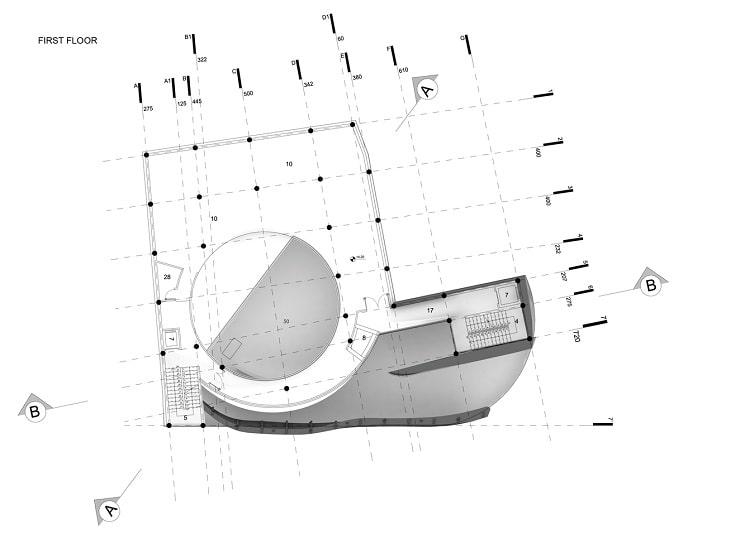 مسجدامیرالمومنین طراحی پلان توسط استودیوی CAAT2