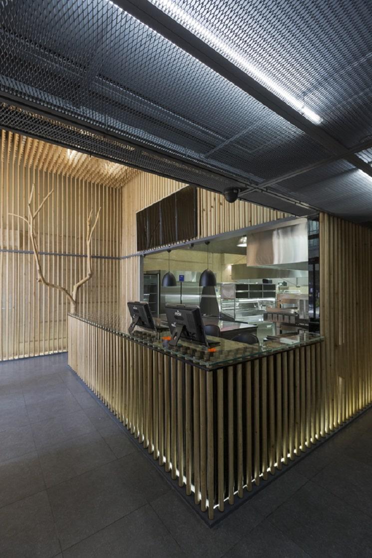 رستوران چوجی طراحی توسط استودیوی آدمون2