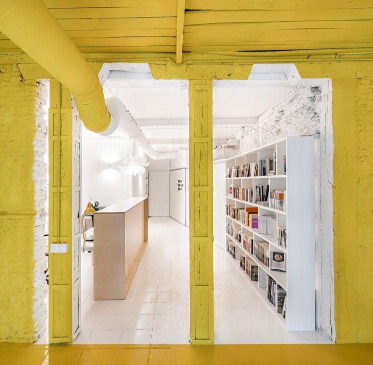 طراحی کتابخانه1