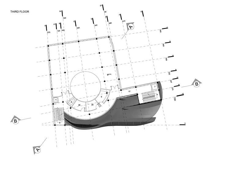 مسجدامیرالمومنین طراحی پلان توسط استودیوی CAAT3