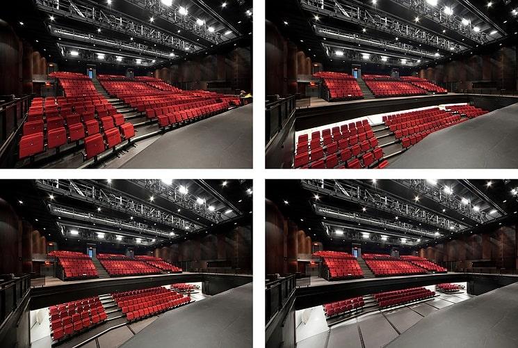 طراحی سالن تئاتر 5
