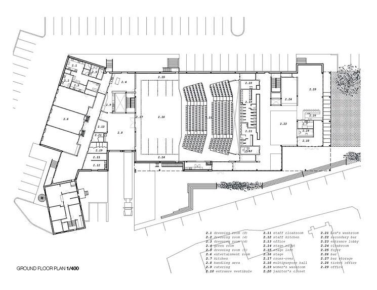 طراحی سالن تئاتر 3