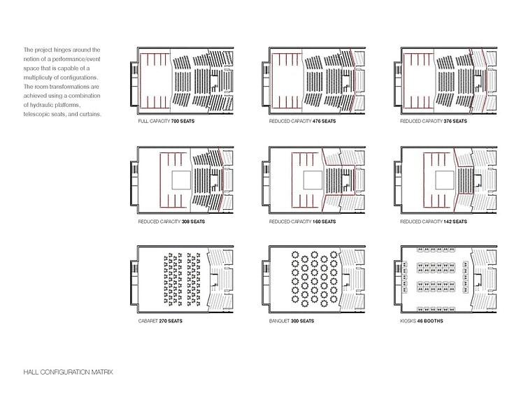طراحی سالن تئاتر 6
