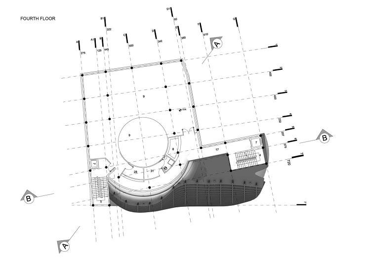مسجدامیرالمومنین طراحی پلان توسط استودیوی CAAT5