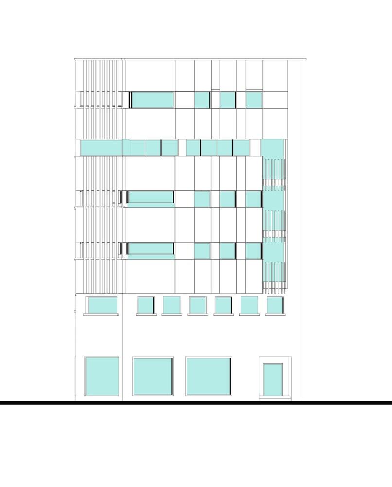 طراحی پلان دفتر بازرگانی طاها 1