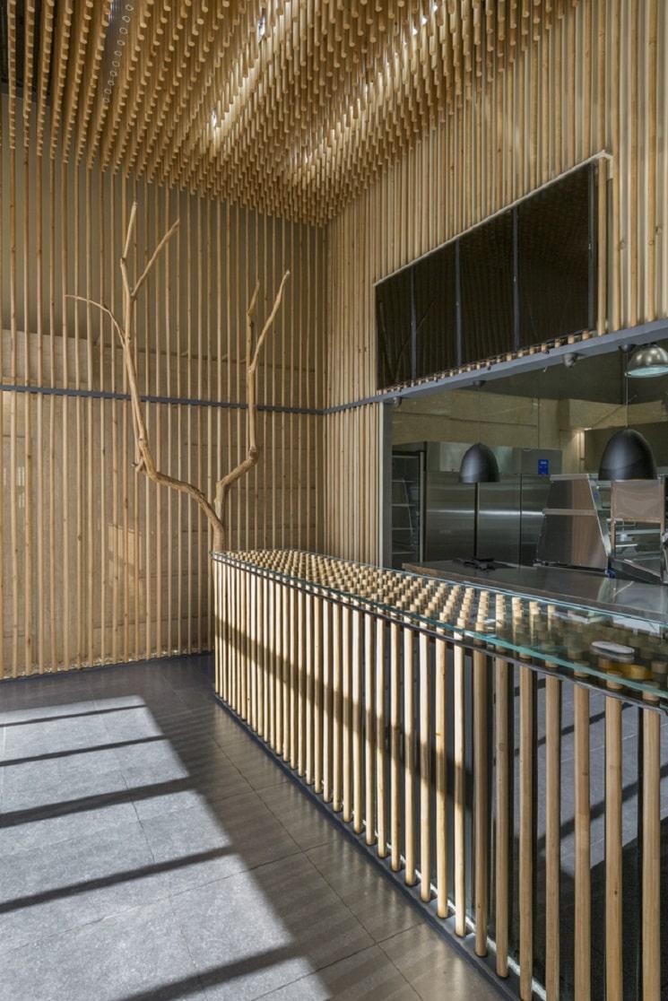 رستوران چوجی طراحی توسط استودیوی آدمون3