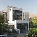 نمایی ساختمان اداری تجاری فرمانیه