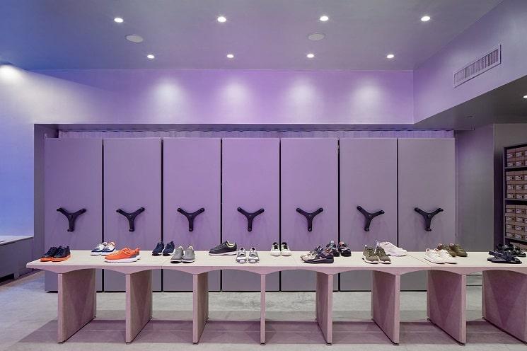 طراحی فروشگاه کفش فروشی3