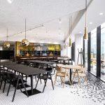 طراحی رستوران آشپزخانه