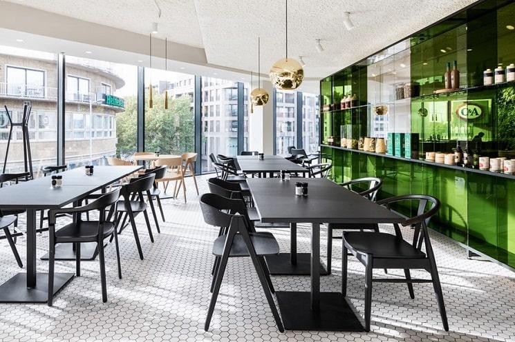 طراحی رستوران آشپزخانه5