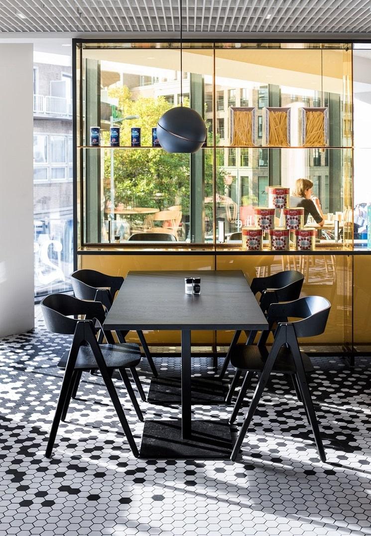 طراحی رستوران آشپزخانه8