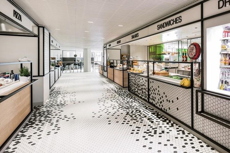 طراحی رستوران آشپزخانه10