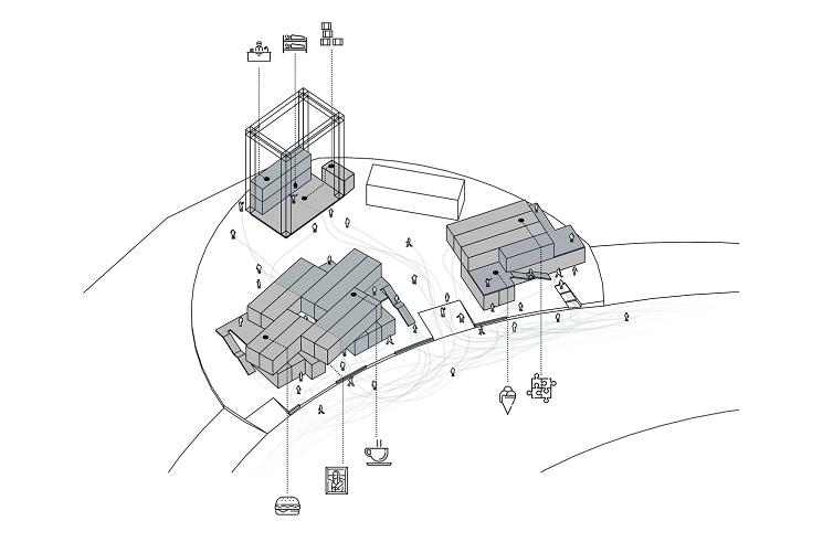 طراحی پلان باشگاه مکعب1