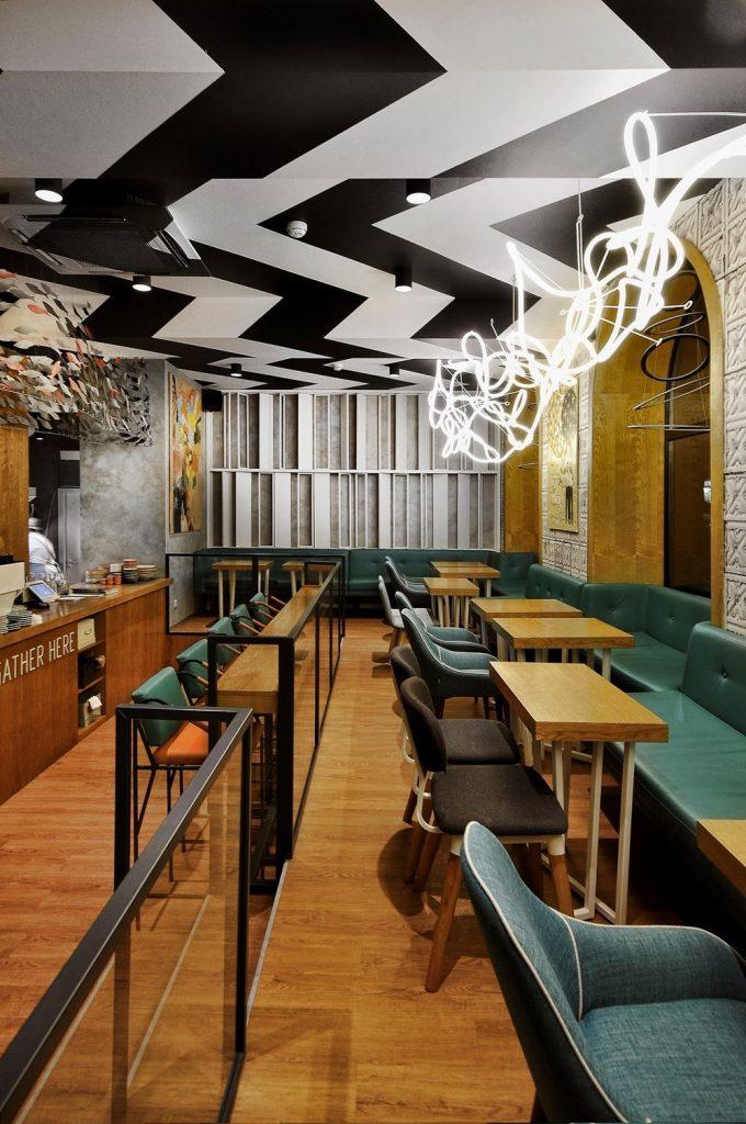 طراحی کافه