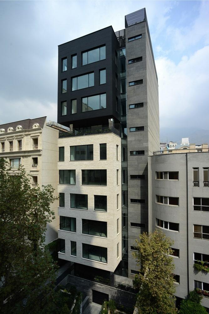 ساختمان BW7طراحی توسط آراد