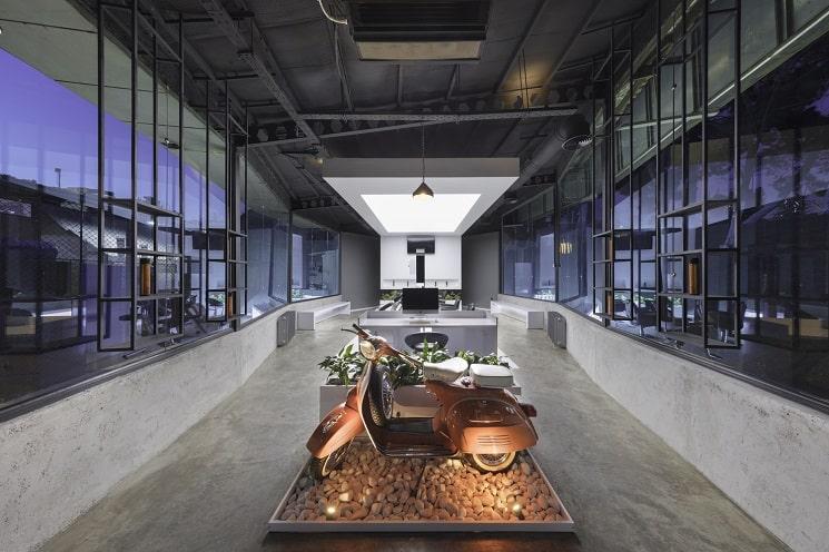 کلوپ مو VIP4 طراحی توسط استودیو معماری2