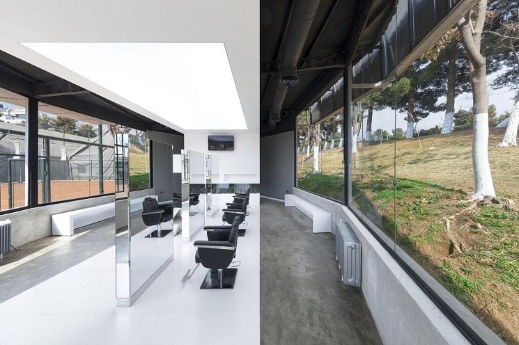 کلوپ مو VIP4 طراحی توسط استودیو معماری5