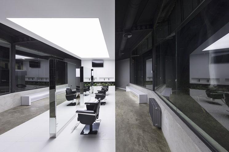 کلوپ مو VIP4 طراحی توسط استودیو معماری1
