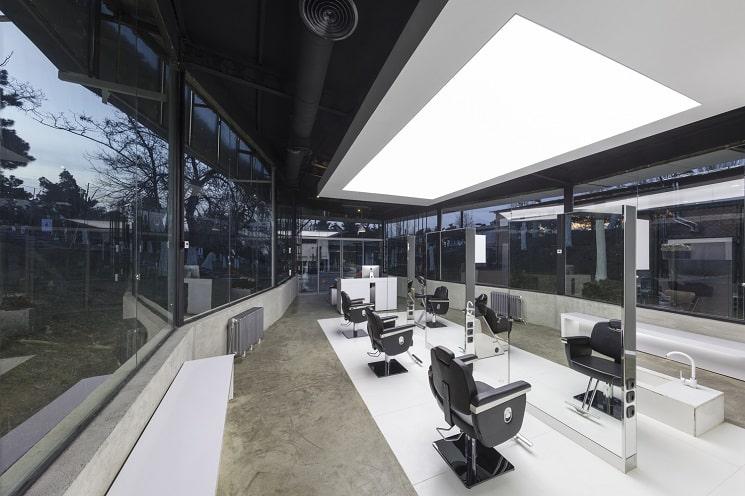 کلوپ مو VIP4 طراحی توسط استودیو معماری3