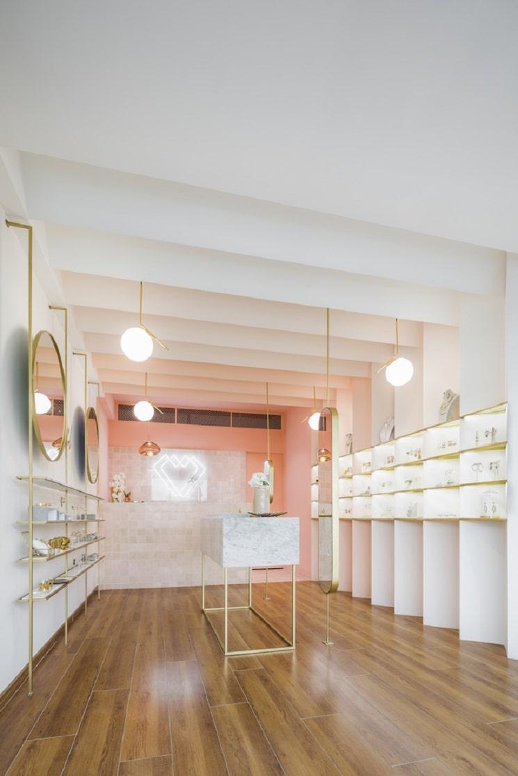 طراحی مغازه جواهر فروشی7