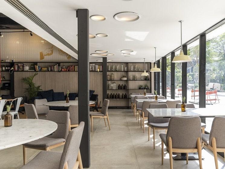 طراحی رستورانی 250 متر مربع 2
