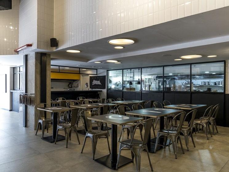طراحی رستورانی 250 متر6 مربع