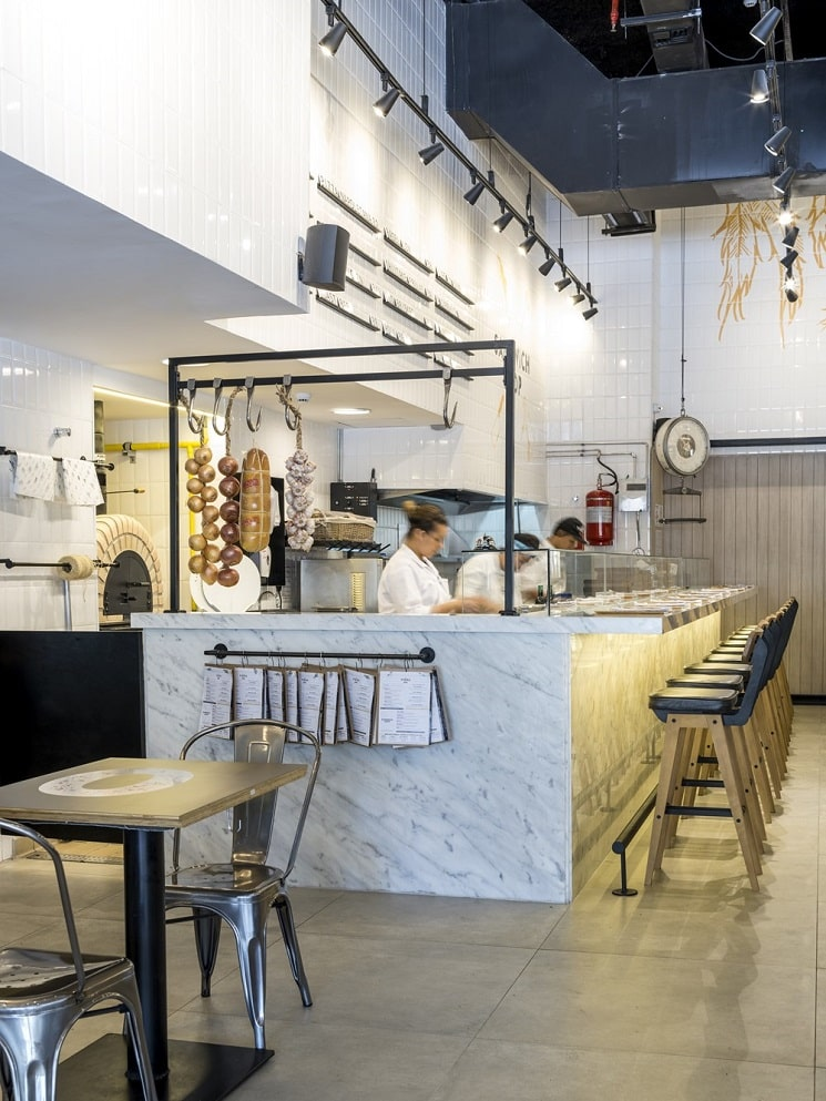 طراحی رستورانی 250 متر م8ربع 8