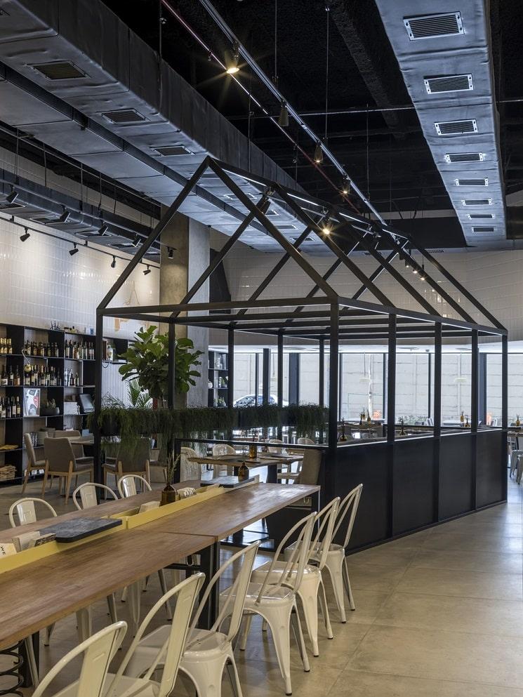 طراحی رستورانی 250 متر مربع 7