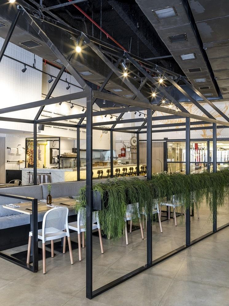 طراحی رستورانی 250 متر مربع 9