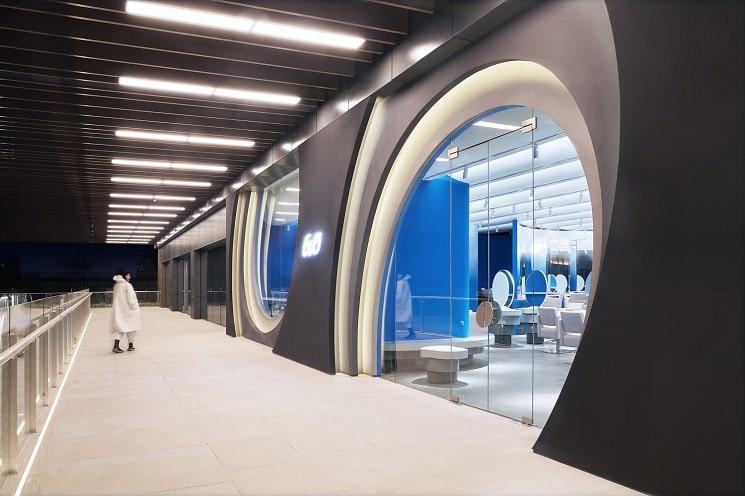 طراحی سالن زیبایی3