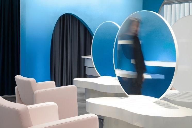 طراحی سالن زیبایی2
