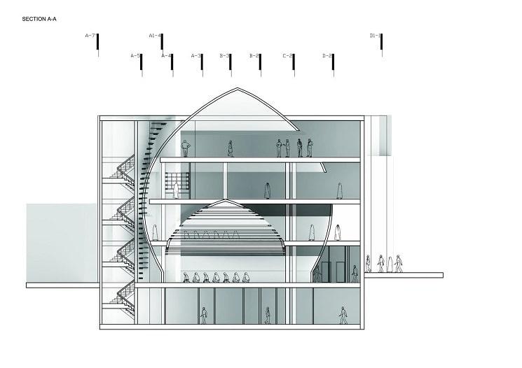 مسجدامیرالمومنین طراحی پلان توسط استودیوی CAAT7