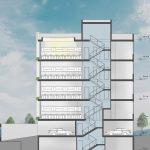 پلان دفتر سرمشق طراحی توسط گروه معماری کوهانشت