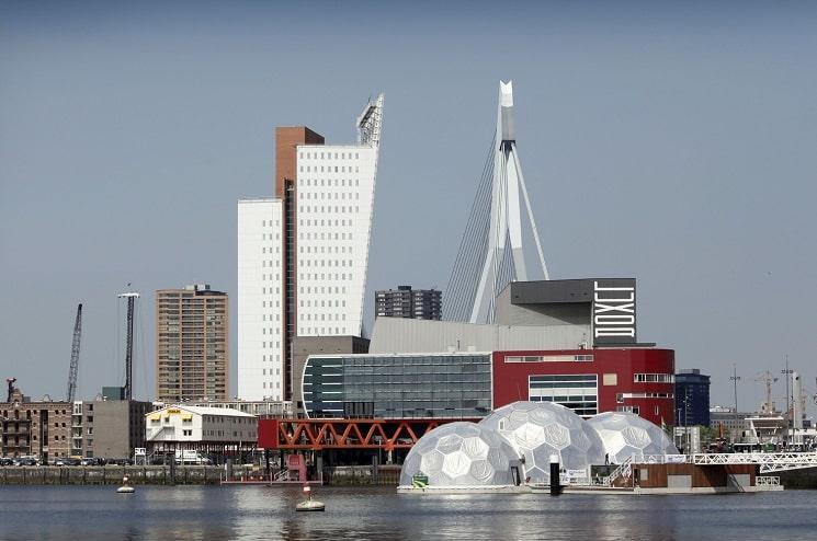 غرفه شناور در روتردام