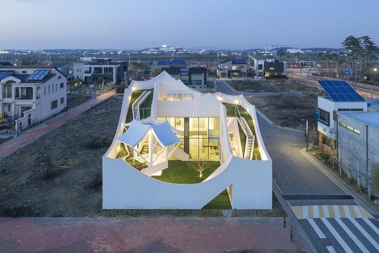 طراحی خانه عجیب