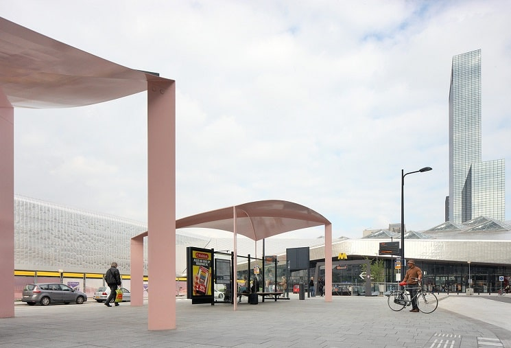 ایستگاه اتوبوس سایبان 1