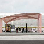 ایستگاه اتوبوس سایبان 3
